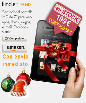 amazon kindle fire hd regalo navidad