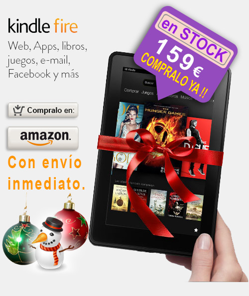 amazon kindle fire regalo navidad
