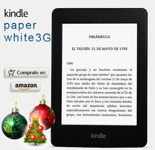kindle paperwhite 3g regalo navidad