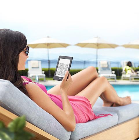 Nuevo Kindle PaperWhite al sol
