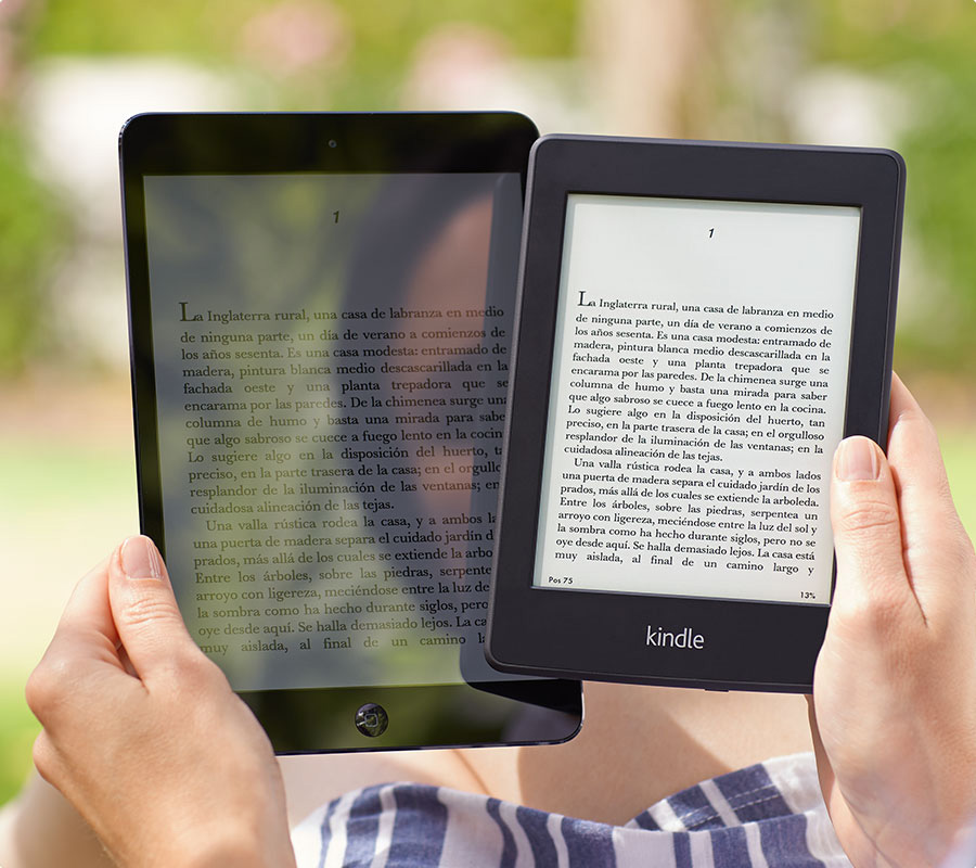 nuevo kindle paperwhite vs tablet